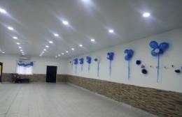 El renovado salón.