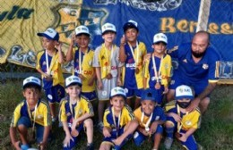 Club Villa Zula: Entrega de medallas a las distintas categorías