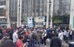 Protesta de Astilleros en La Plata.