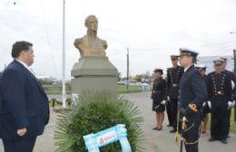 Acto homenaje al almirante Guillermo Brown