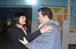 Marcela Ríos y Jorge Nedela.