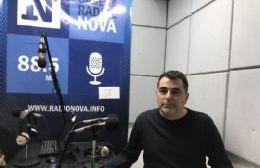 Javier Astorga, en el aire de BerissoCiudad en Radio.