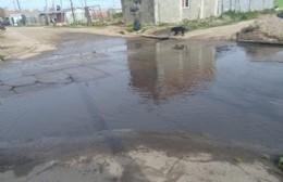 Vecinos de 26 y 158 cortaron la calle por falta de arreglo