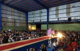 Exitoso desfile en el Basiliano de cara al festejo del 75º aniversario