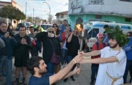 Con la Posta y el encendido de la Llama Votiva, continúa la Fiesta del Inmigrante