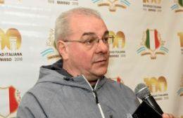 Gasparetti confirmó que la Colectividad Italiana asumirá la titularidad de la AEE