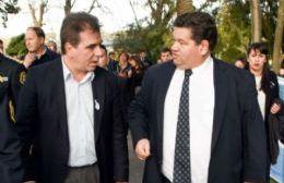 Cristian Ritondo y Jorge Nedela.