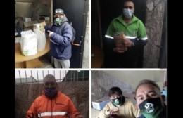 """Peroni con el """"pecho inflado"""" de orgullo por la labor de los trabajadores municipales"""
