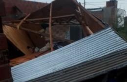 Urgente pedido solidario: El temporal destrozó la casilla de una familia y necesitan levantarla