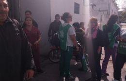 Hermética visita de Vidal al Hospital Larraín