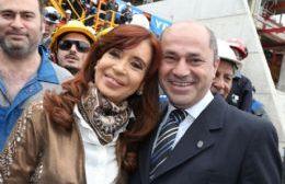 Cristina Fernández de Kirchner y Mario Secco.