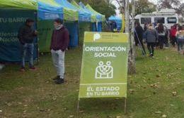 """""""El Estado en Tu Barrio"""" se instala en Plaza 17 de Octubre"""