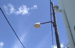 Agradecimiento al Corralón municipal por la reposición de luminarias