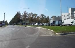 La Avenida 60 y las colas por el operativo de control