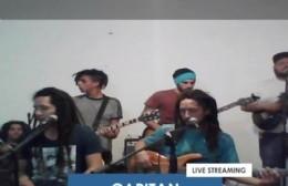 Genes Abori: El primer show en vivo por las redes en Berisso