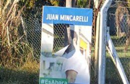 """Cortajearon banner de Mincarelli: """"Pensé que la agresión era parte de la vieja política"""""""