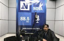 El concejal Alejandro Paulenko, en el aire de Cadena Radial NOVA.