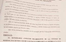 """Sesión definitiva de las tierras a Estrella de Berisso: """"Una Alegría enorme para el club"""""""