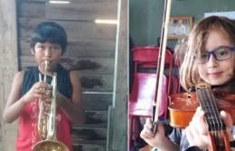 Se renovaron los instrumentos de la Orquesta Escuela de Berisso y el aprendizaje no se detiene