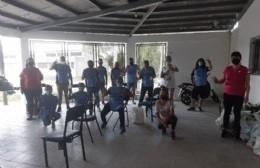 Trabajo social de la Agrupación Vecinos Peronistas