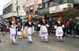 La Montevideo se vistió de fiesta con el Desfile del Inmigrante
