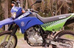 Un policía resultó herido al caer de la moto en plena persecución