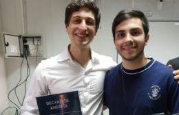 """Joaquín Inama, berissense en la Olimpiada Internacional de Matemática: """"En términos de fútbol es el Mundial"""""""