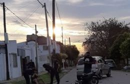 Accidente de sábado: Automóvil embistió a una motocicleta