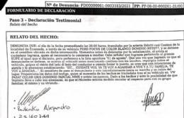 Amenazaron al concejal Alejandro Paulenko