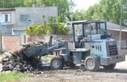 Activa labor para erradicar basurales en Barrio Obrero