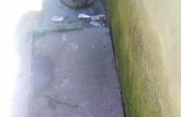 """Barrio Obrero: Tapa provisoria """"sin intervención del Municipio"""""""