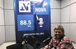 El delegado de la Zona I, en el aire de BerissoCiudad en Radio.