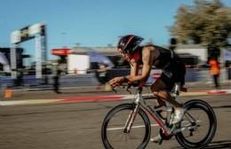 Un berissense en el Campeonato Sudamericano de Triatlón