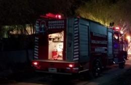 Rápida intervención de los bomberos.