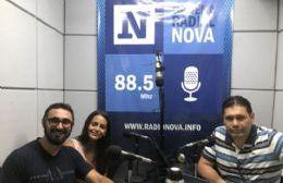 El dirigente peronista en el aire de BerissoCiudad en Radio.