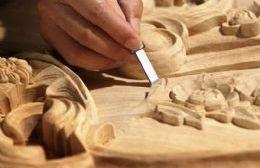 Tallado de madera.