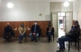 Reunión con comerciantes para reforzar medidas sanitarias preventivas