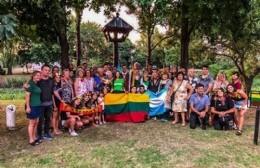 Acto por el 102º aniversario de la declaración de la Independencia de la República de Lituania