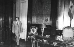 Solicitud para emplazar en el Parque Cívico el busto de Raúl Alfonsín
