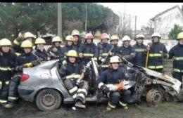 Curso de rescate vehicular.