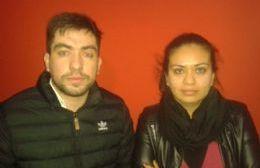 Jonathan Barros y Nati Campillay, aspirantes a consejeros escolares.