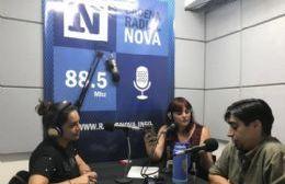 Alejandro Paulenko, en el aire de BerissoCiudad en Radio.