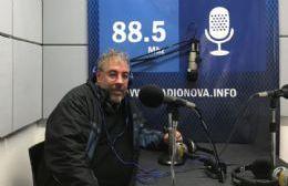 Gabriel Gómez, en el aire de BerissoCiudad en Radio.
