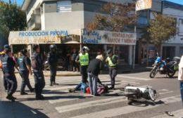 Accidente en Montevideo y 16