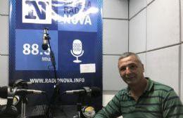 El secretario general del SUPeH Berisso, en el aire de Cadena Radial NOVA.