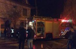 Alarma por incendio en rotisería de 26 y 169