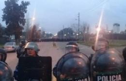 Incidentes y represión en YPF