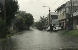 Alerta por temporal y consecuencias en las calles de la ciudad