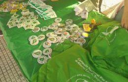 Campaña por el aborto legal, seguro y gratuito en Berisso