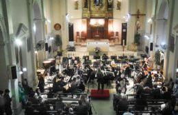La Orquesta Sinfónica se presentó en el marco de los festejos Patronales de María Auxiliadora
